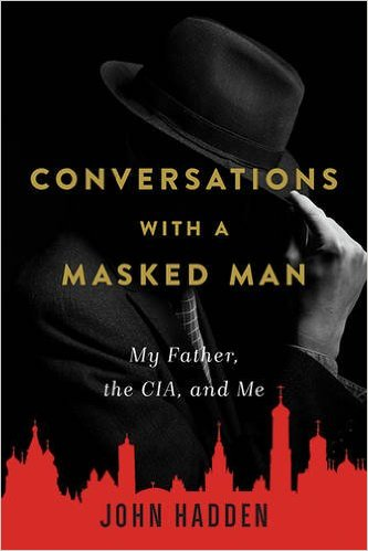 John Hadden, author, conversations, masked man